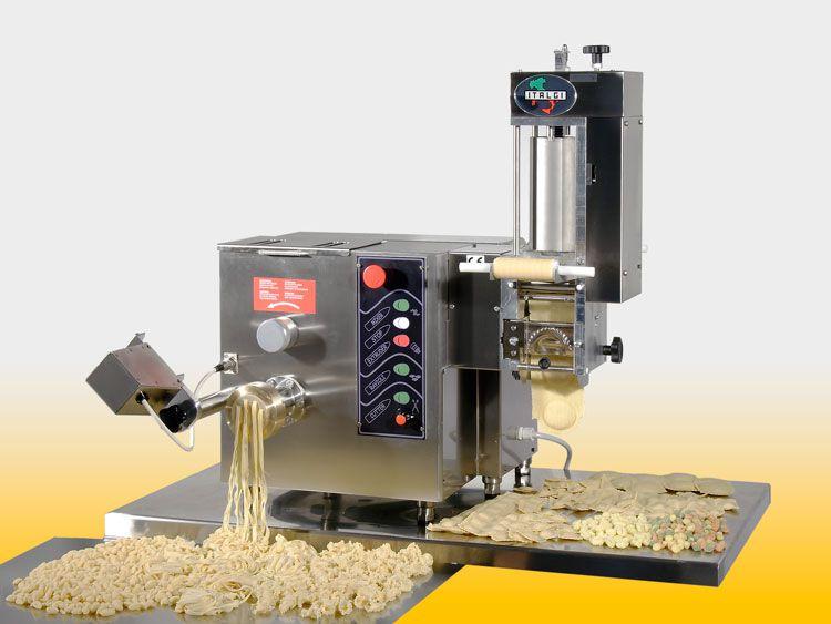 Multipla macchina per pasta combinata basata su estrusore - Macchine per la pasta casalinga ...
